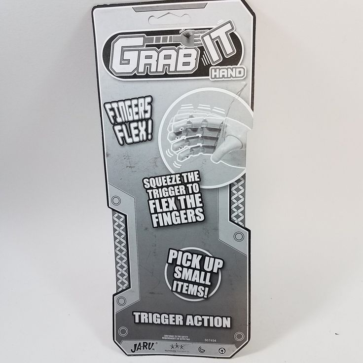 """GRAB-IT HUGE HAND Blaster Extends 12"""" Funny Gag Novelty Toy (HAND)"""