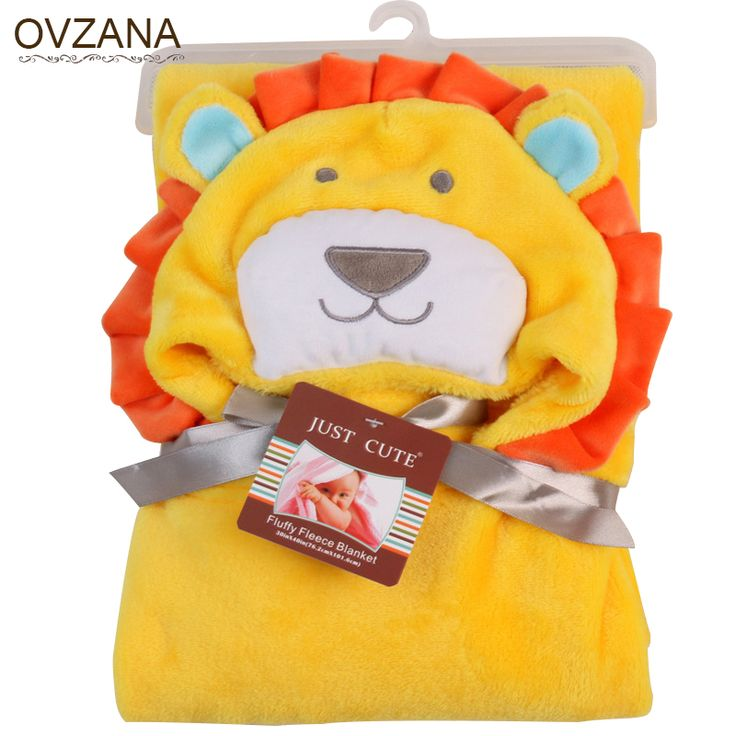 Find More Blanket & Swaddling Information about Baby Coral Fleece blanket Infant soft flannel blanket Spring Autumn baby swaddle bebe Animal head hooded bathrobe baby Bedding,High Quality bedding sets in a bag,China bedding chest Suppliers, Cheap bathrobe suppliers from Children Clothing Ovzana Brand on Aliexpress.com