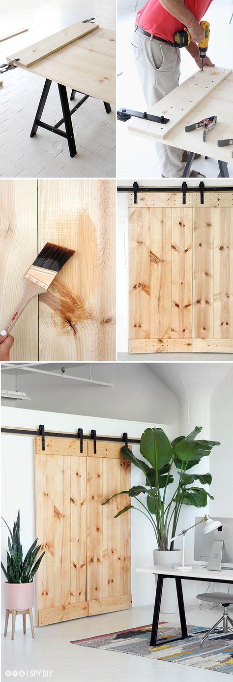 Best 25+ Diy barn door ideas on Pinterest   Sliding doors ...
