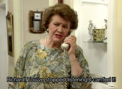 Great Sitcom - Keeping Up Appearances: you've stopped listening