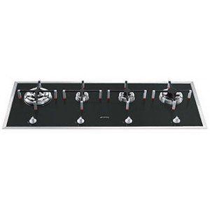 SMEG - Table de cuisson - SMEG TAQUE GAZ PVA140BE1: Amazon.fr: Gros électroménager