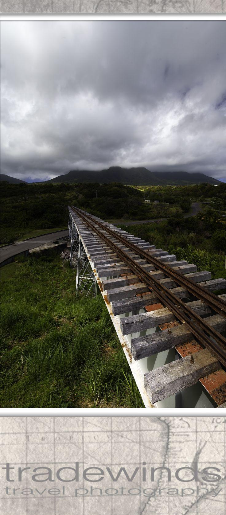 Old sugarfield railway  Saint Kitts