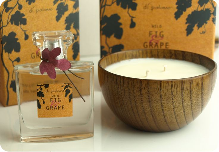 The Black Pearl Blog - UK beauty, fashion and lifestyle blog: Di Palomo Wild Fig & Grape EDP and candle