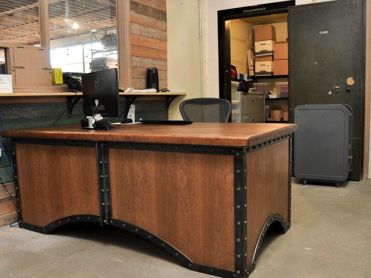 vintage industrial m bel industrielle m bel and retro industrial on pinterest. Black Bedroom Furniture Sets. Home Design Ideas