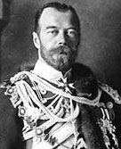 Nicholas II, the last tsar of Russia.