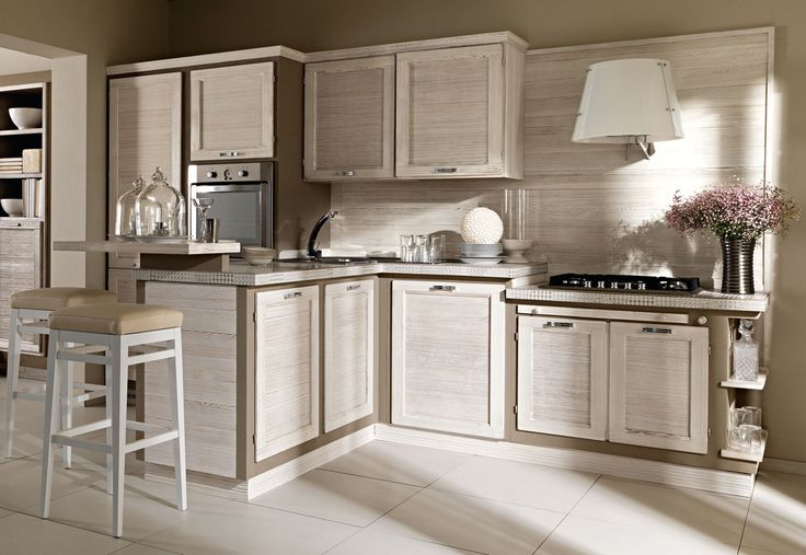 Terre di Toscana finitura Pomice #zappalorto #tuscany #madeinitaly #country #kitchen #wood #chic #interior