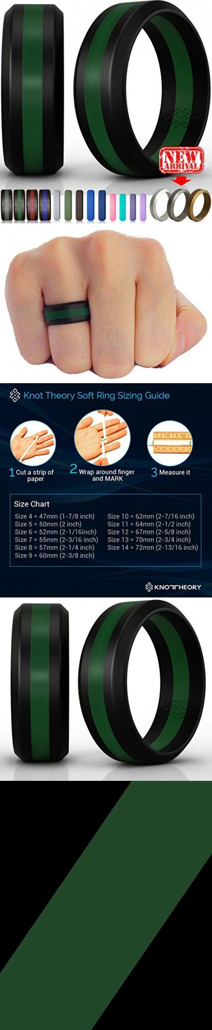 Silicone Wedding Ring Band For Men Women Enhanced Comfort Superior Non Bulky Rubber Rings