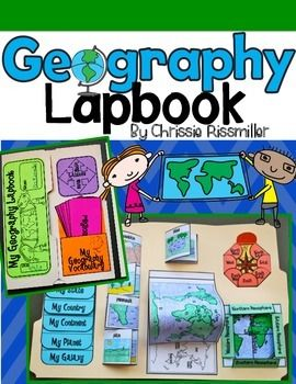This product is now a part of a GROWING BUNDLE! Download it individually, or save money by purchasing it as part of the Interactive Social Studies Kit BUNDLE!Are you unsure about lapbooks? Watch this YouTube video to find out why I love lapbooks and how I use them in my own classroom.This 30 page download is a complete kit with black line masters and step by step directions for making a geography lapbook with your students.:
