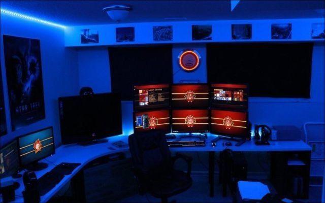 ゲームを楽しむことに最適化された世界中のゲーマーたちの部屋の写真いろいろ