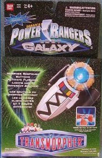 Power Rangers Lost Galaxy TRANSMORPHER Morpher NEW LIGHTS and SOUNDS $114.99