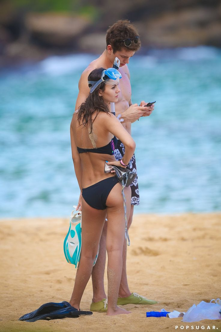 Victoria Justice and Pierson Fode on the Beach in Hawaii | POPSUGAR Celebrity