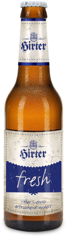 Hirter fresh è la nostra nuova specialità per tutti gli intenditori di birra più esigenti. La composizione molto particolare, prodotta con quattro diversi tipi di malto, conferisce alla Hirter fresh il suo carattere unico particolarmente pieno. Raffinata con il nuovo luppolo Mandarina Bavaria, la cui lieve profumazione fruttata di mandarini dona alla nostra birra una piacevole freschezza, oltre al suo inconfondibile aroma.Gusto pieno, dissetante in modo unico, con solo il 3,4% di alcol. Come…