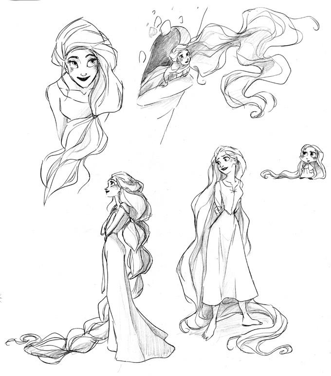 Rapunzel by David Gilson