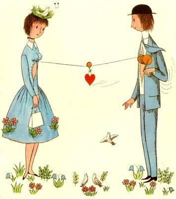 Peynet - les amoureux