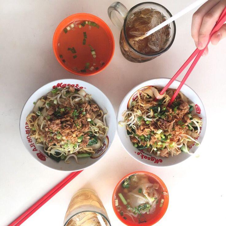 Indonesian noodle have a good taste!