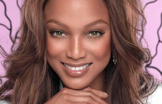Amo la seguridad que me da el maquillaje. Tyra Banks