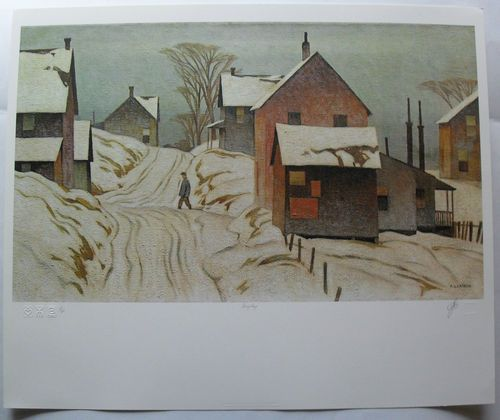 $424.99  Group OF Seven Signed Limited Edition Grey DAY BY A J Casson | eBay