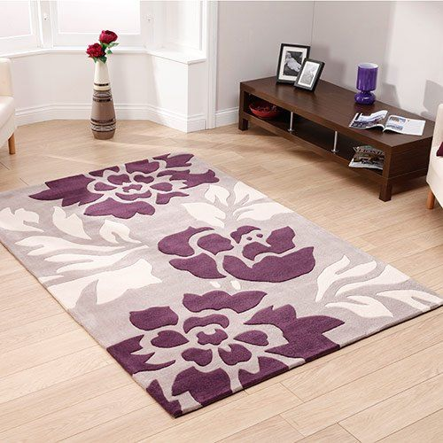 Nh 1033l Stone Purple Rugs 500