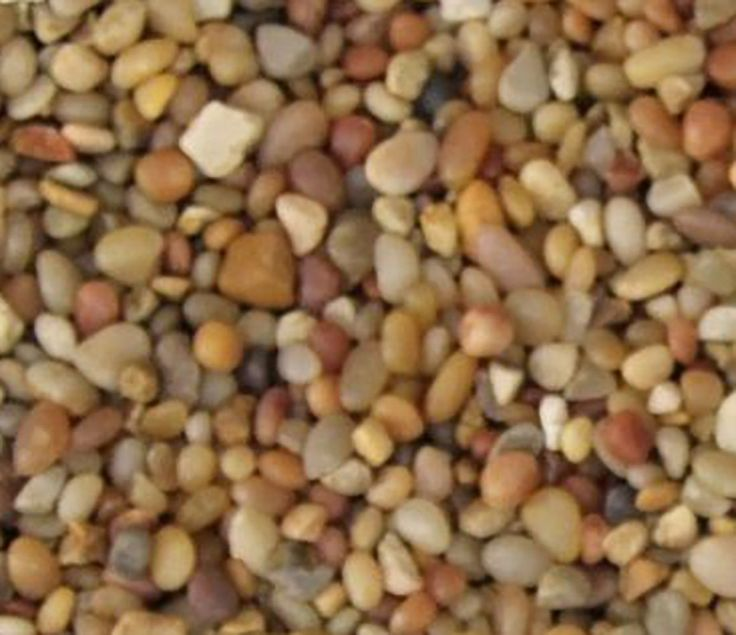 "Amazon.com : Safe & Non-Toxic {Small Size, 0.12"" to 0.25"" Inch} 5 Pound Bag of ""Acrylic Coated"" Gravel & Pebbles Decor for Freshwater Aquarium w/ Natural Polished Earthy Toned Rustic Style [Tan] : Pet Supplies"