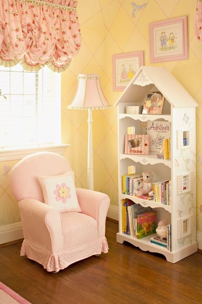 Girl's Room- dollhouse bookshelf for Bryan to make! :)