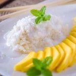 Sticky Rice mit Mango - Das Küchengeflüster