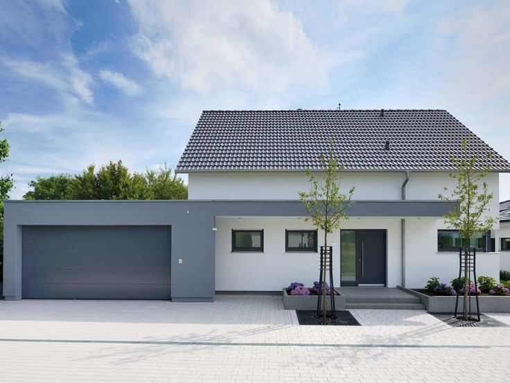 ▷ Model House Life – prefab house WHITE   – Häuser