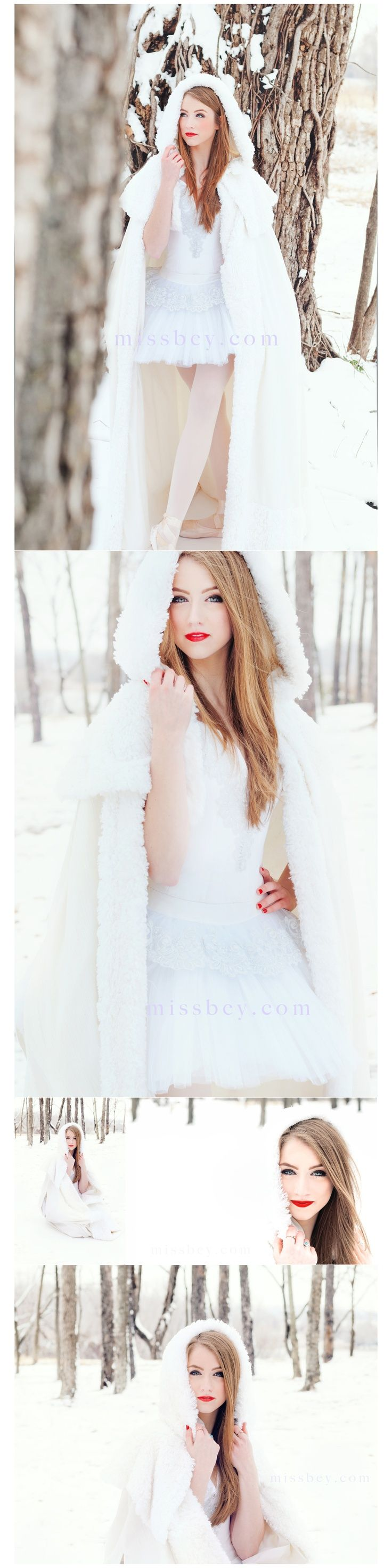 senior styled shoot - snow white