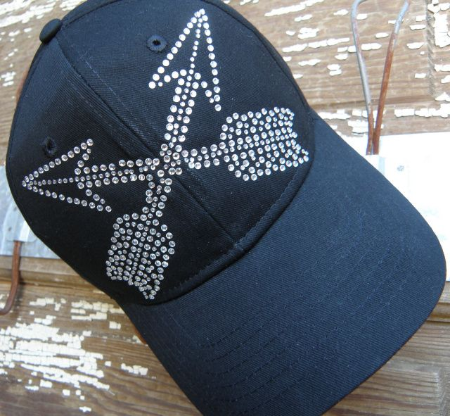 54 best blingcaps images on pinterest cowgirl clothing for Red hat bling jewelry