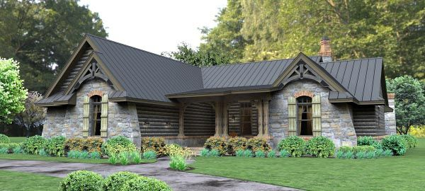 Tuscan House Plan chp-54684 at COOLhouseplans.com