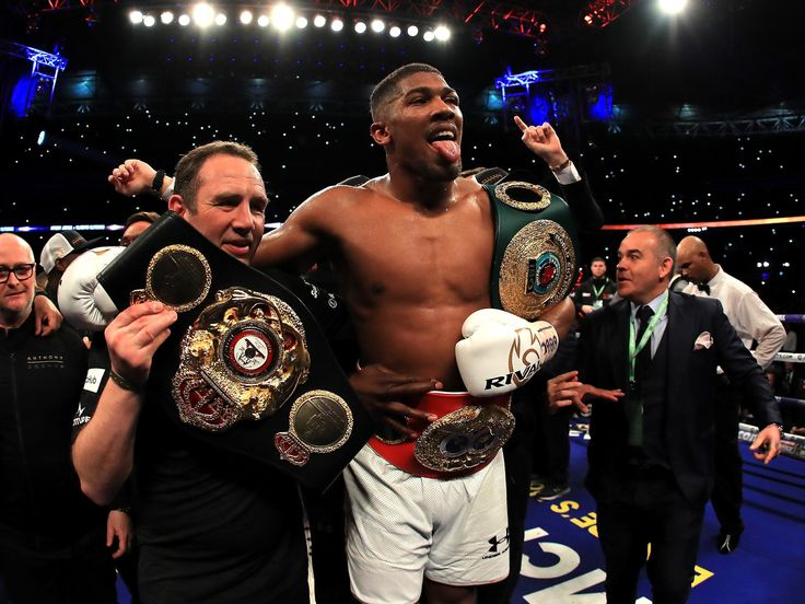 Anthony Joshua tops list of world's most marketable athletes