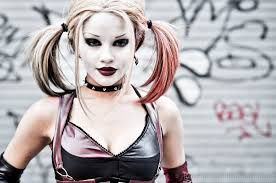 Image result for female harlequin cosplay