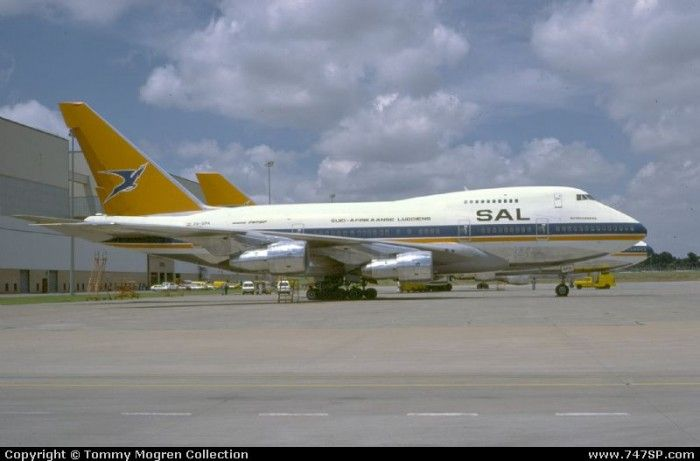 Story of the B747SP   Boeing 747SP Website