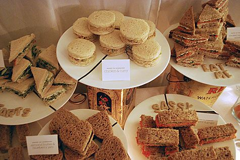 ... on Pinterest | Tea sandwiches, Finger sandwiches and Sandwiches
