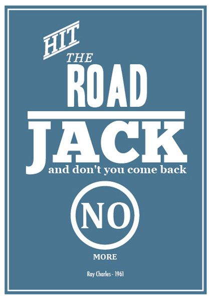 Hit the Road Jack | Ray Charles
