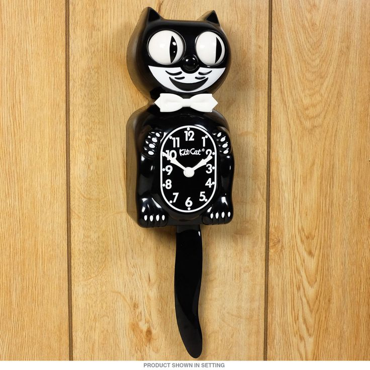You'll love this Classic Retro Kit Cat Clock with its moving eyes and tail. Also includes your choice of Retro Gift wrapping for easy Kit Kat Clock gift giving.