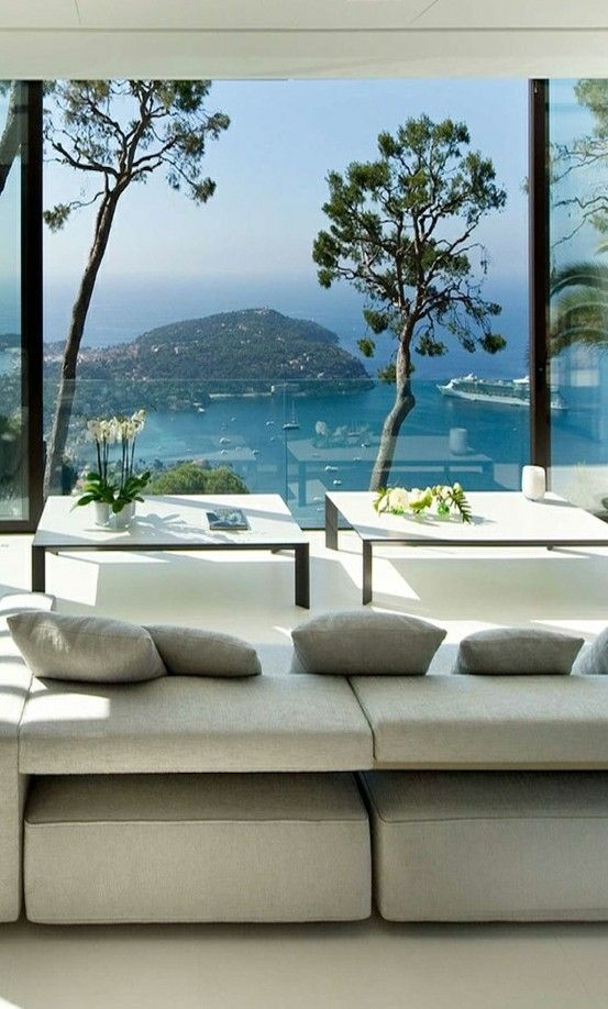 Nice, French Riviera. villa .   Now that's a view for you.