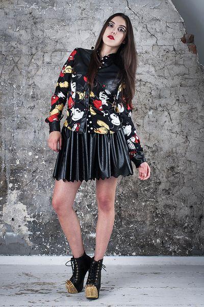 Koszula Myszka Mickey - MagdalenaMol - Koszule damskie