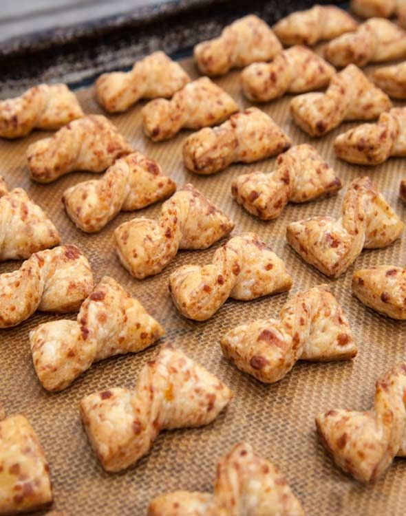 Bow Tie Cheese Straws