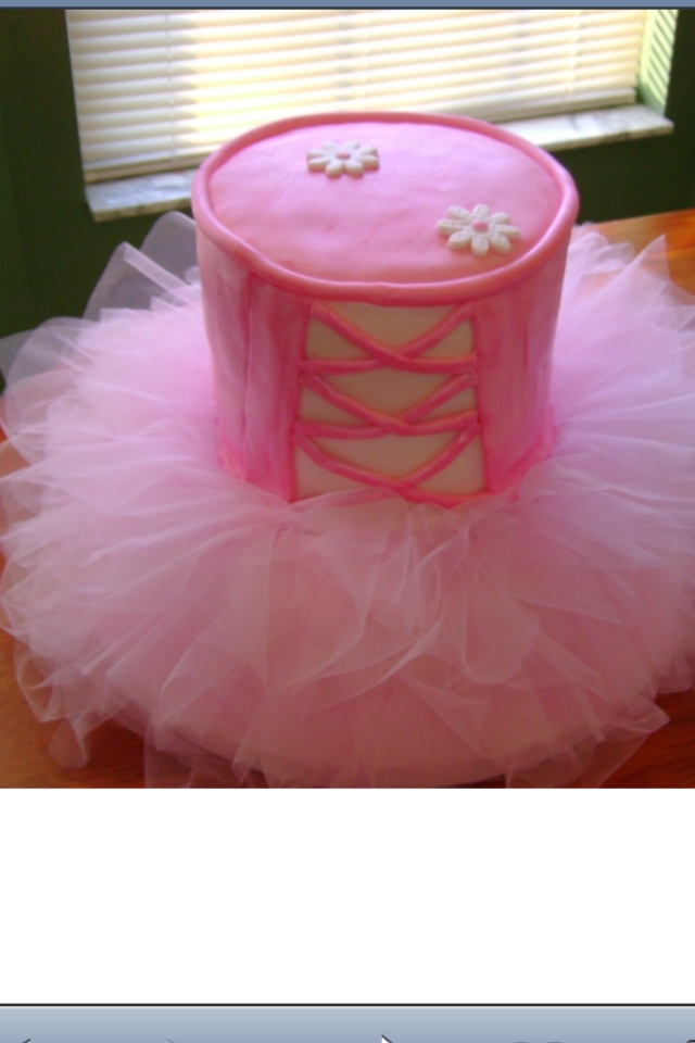 Tutu birthday cake I want to recreate for my daughter.