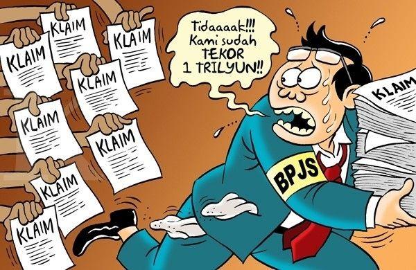 Kartun Benny, Kontan - Juni 2015: BPJS, Laris Klaim Bikin Tekor