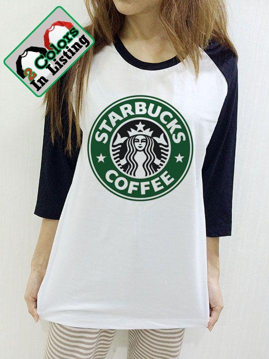 Starbucks Shirt Logo koffie Swag Geek Unisex door NaturalTeeM
