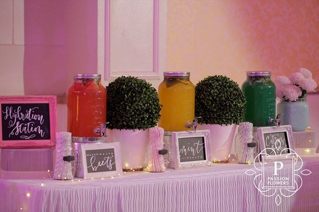 Amara's The Road Less Traveled Nature Inspired Party - Drink Station