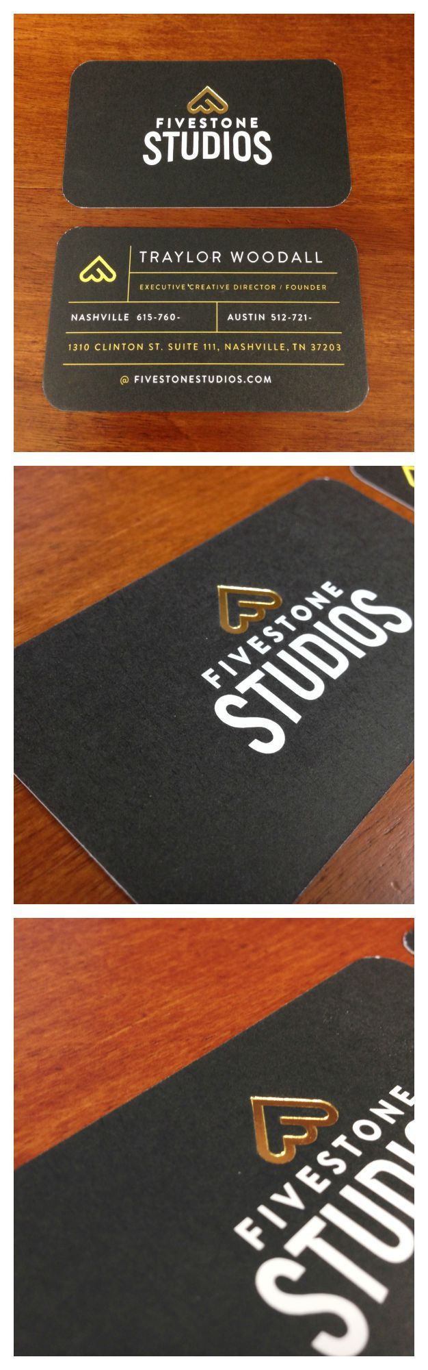 47 best business cards images on pinterest carte de visite visit gold foil stamped business cards email and phone numbers have been removed for privacy purposes reheart Image collections