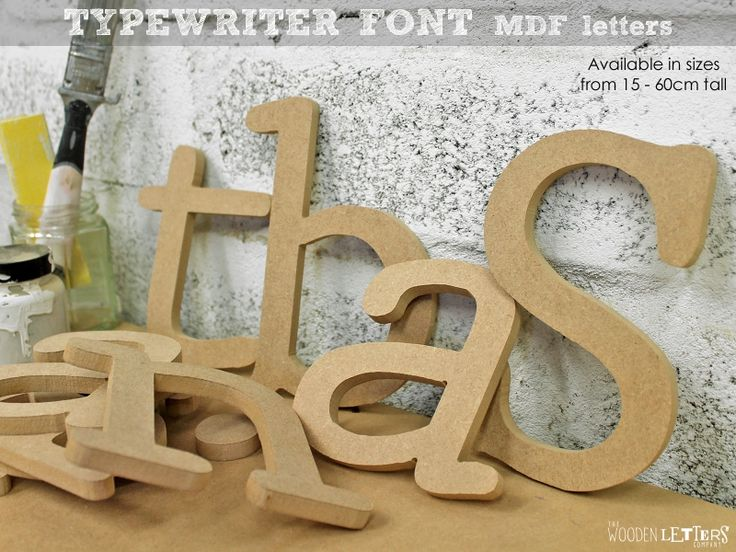 how to cut mdf letters