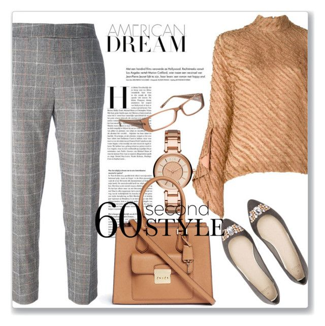 60-Second Style: Job Interview by andrejae on Polyvore featuring polyvore fashion style Marco de Vincenzo I'm Isola Marras Michael Kors Armani Exchange clothing jobinterview 60secondstyle