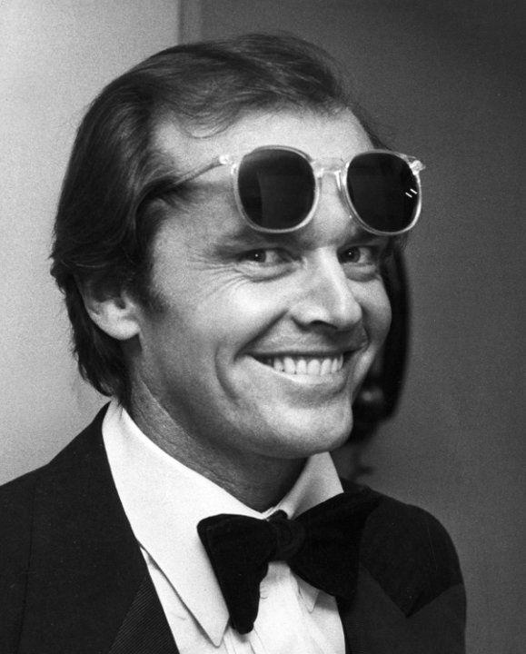 Black & white photo Jack Nicholson