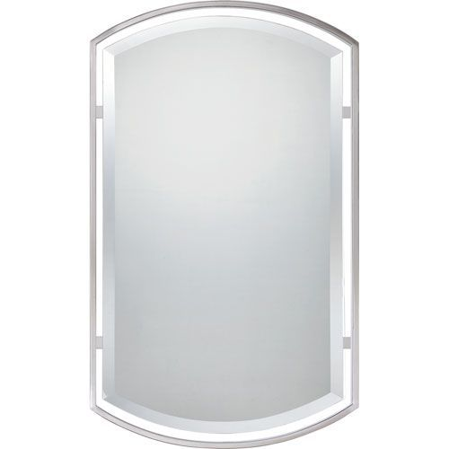 Brushed Nickel Mirror Quoizel Rectangle Mirrors Home Decor
