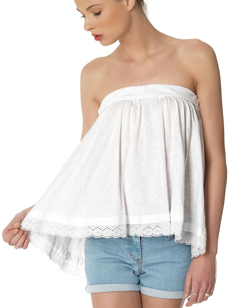 Regalinas strapless top