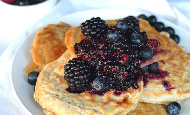 Healthy pancakes - Fitgirlcode - Community for fit and healthy women. Unlocking your personal code to a healthy lifestyle.
