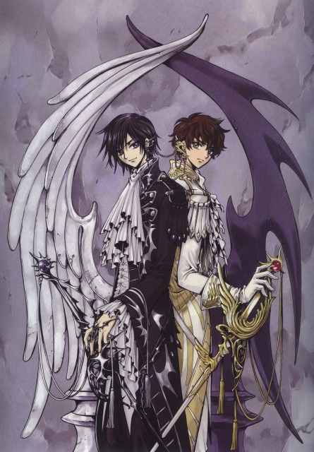 CLAMP, Sunrise (Studio), Code Geass: Lelouch of the Rebellion, Mutuality: Clamp Works In Code Geass, Suzaku Kururugi